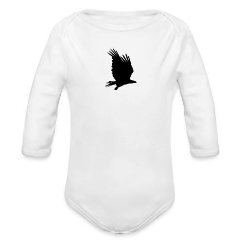 Tirolerbergluft pur (großer Adler) - Baby Bio-Langarm-Body