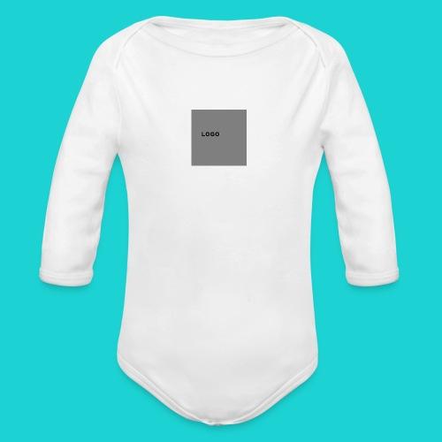 logo-png - Organic Longsleeve Baby Bodysuit