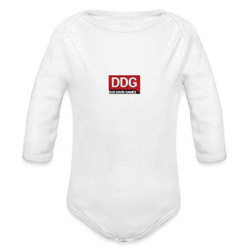ddg - Baby bio-rompertje met lange mouwen