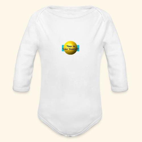 Time to Love Yourself - Baby Bio-Langarm-Body