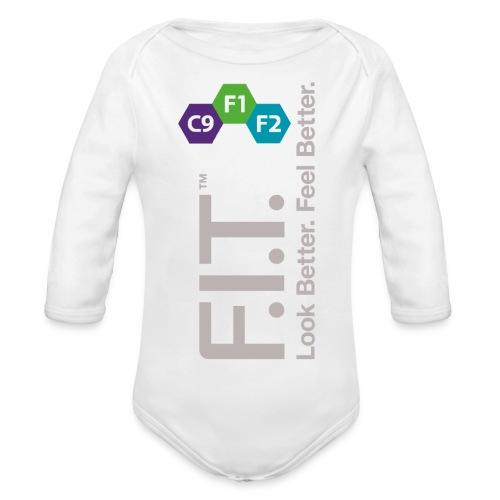 LogoFIT - Baby Bio-Langarm-Body