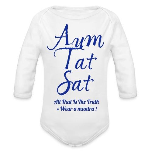 AUM TAT SAT - Body ecologico per neonato a manica lunga