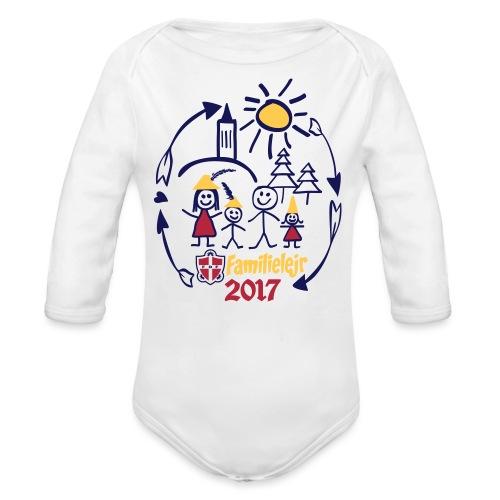 tshirtlogo-sw2017smallb - Langærmet babybody, økologisk bomuld