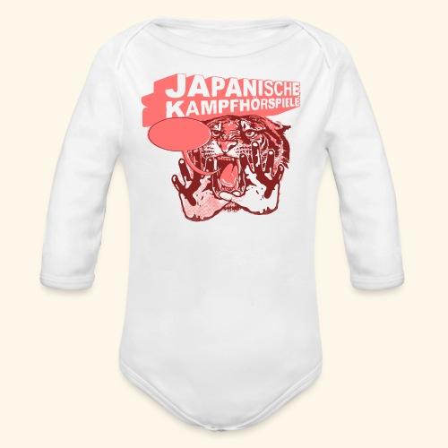 JAPANISCHE KAMPFHÖRSPIELE Tiger - Baby Bio-Langarm-Body