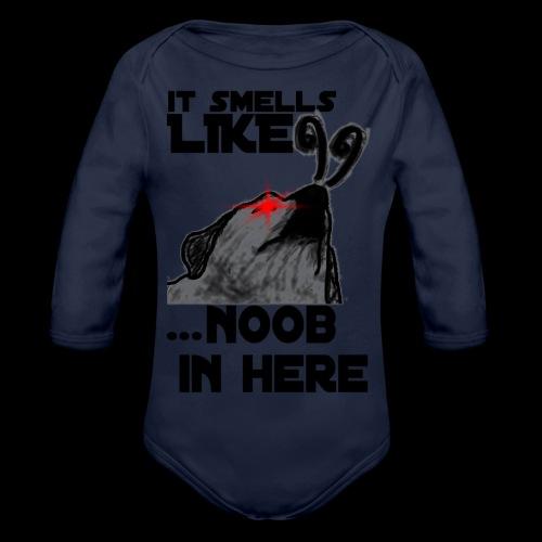 Noob Gaming Gamer Pro - Baby Bio-Langarm-Body