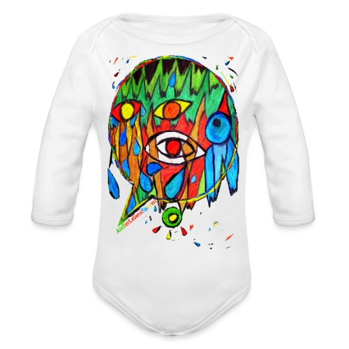 Vogel - Baby Bio-Langarm-Body