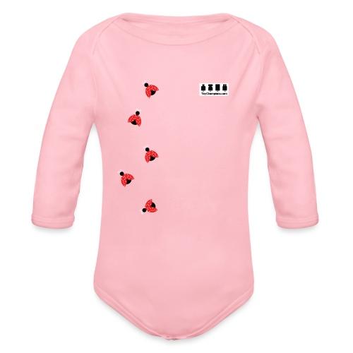 ladybird design tc - Organic Longsleeve Baby Bodysuit