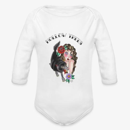 Hollow Trees - Organic Longsleeve Baby Bodysuit