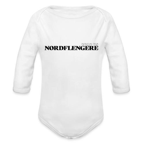 Een eus Nordflengere - Baby Bio-Langarm-Body