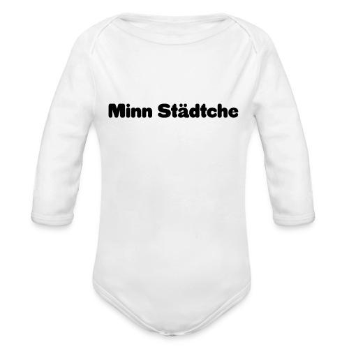 Minn Städtche - Baby Bio-Langarm-Body