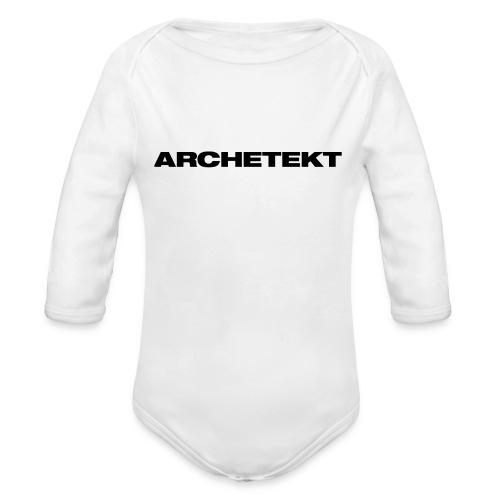 Archetekt - Baby Bio-Langarm-Body