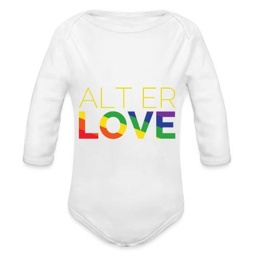 Alt er Love | SKAM | LGBT | Pride - Baby Bio-Langarm-Body