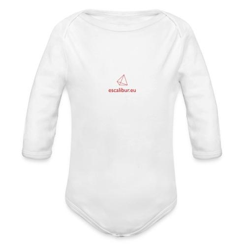 esc_logo - Body ecologico per neonato a manica lunga