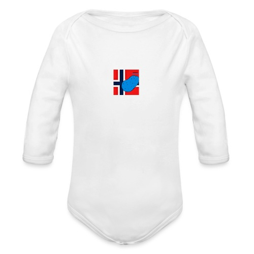 NorPot SAS ACE - Økologisk langermet baby-body
