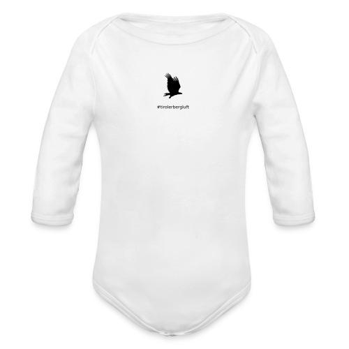 #tirolerbergluft - Baby Bio-Langarm-Body