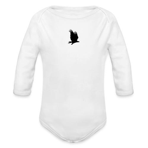 Tirolerbergluft pur (kleiner Adler) - Baby Bio-Langarm-Body