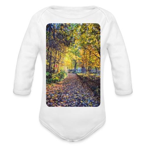 Autumn - Ekologiczne body niemowlęce z długim rękawem