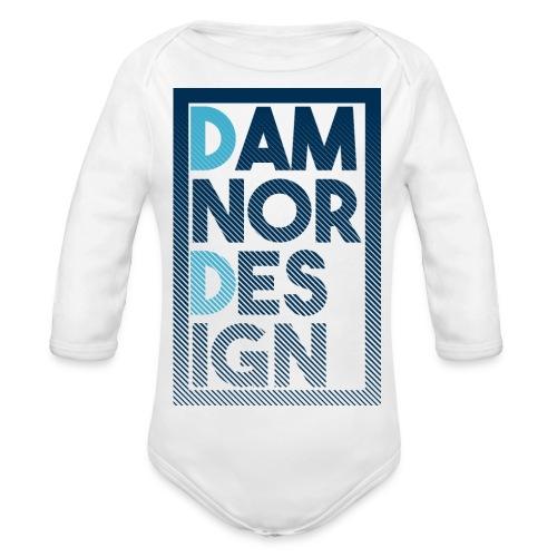 Damnor design (H) - Body Bébé bio manches longues