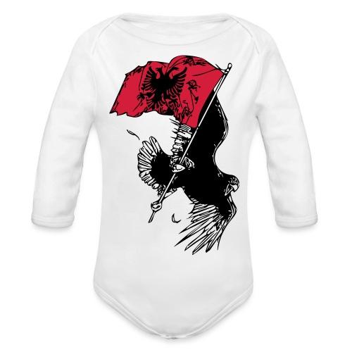 Albanischer Adler - Baby Bio-Langarm-Body