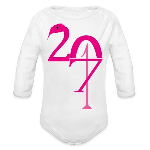 2017 - Body Bébé bio manches longues