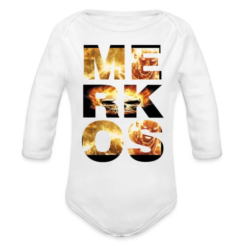 MERKOS FIRE DESIGN - Body orgánico de manga larga para bebé