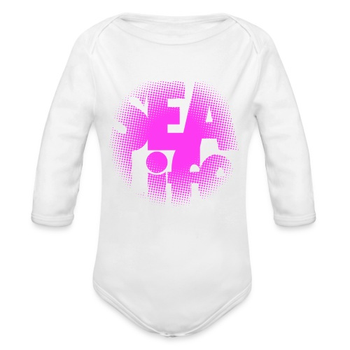 Sealife surfing tees, clothes and gifts FP24R01B - Vauvan pitkähihainen luomu-body