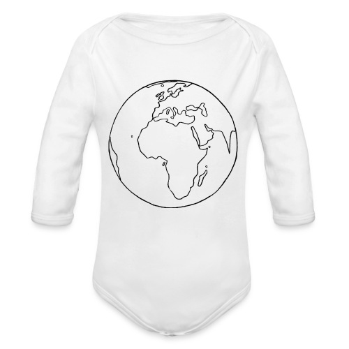 Mutter Erde - Baby Bio-Langarm-Body