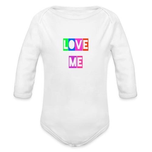 LoveMe - Body orgánico de manga larga para bebé