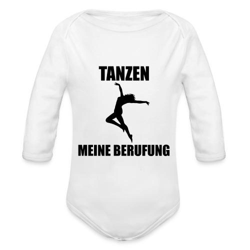 MEINE BERUFUNG Tanzen - Baby Bio-Langarm-Body
