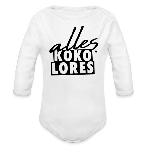 ALLES KOKOLORES - Baby Bio-Langarm-Body