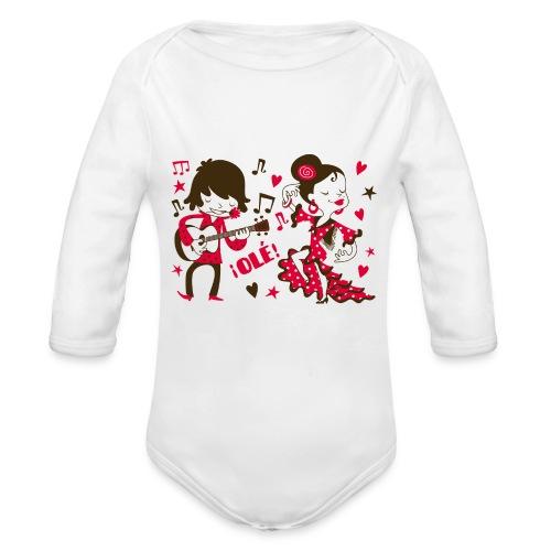 GITANILLOS - Body orgánico de manga larga para bebé