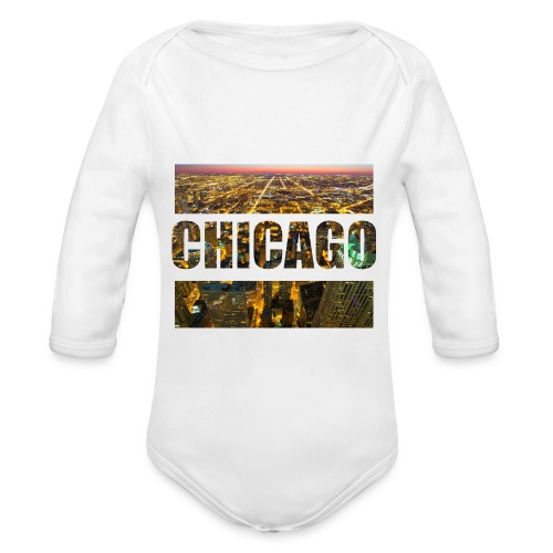 Chicago - Baby Bio-Langarm-Body