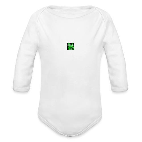 sit for master guy - Organic Longsleeve Baby Bodysuit