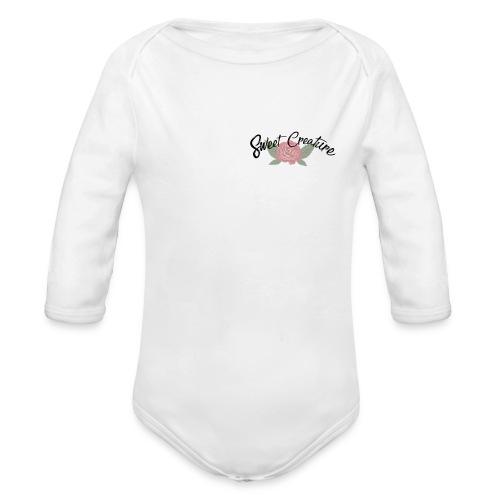 Sweet Creature - Baby bio-rompertje met lange mouwen