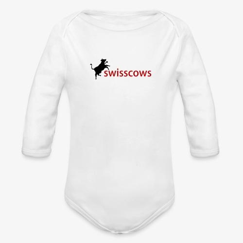 Männer T-Shirt - Baby Bio-Langarm-Body
