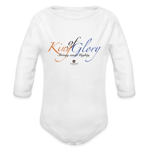 King of Glory by TobiAkiode™ - Organic Longsleeve Baby Bodysuit
