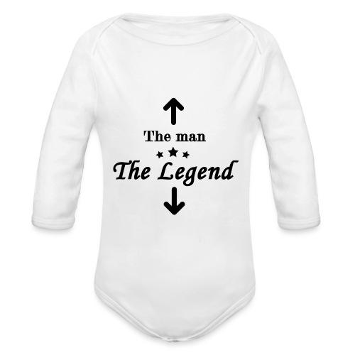 The Legend - Organic Longsleeve Baby Bodysuit