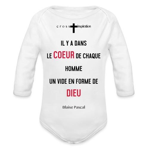Pascal - Body Bébé bio manches longues