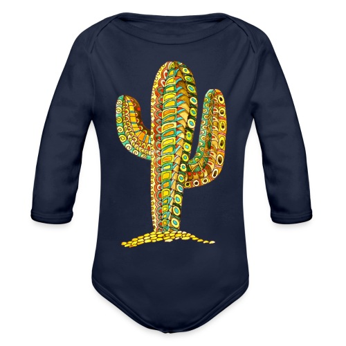 Le cactus - Body Bébé bio manches longues