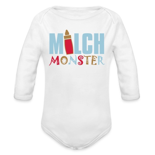 MILCHMONSTER - Baby Bio-Langarm-Body