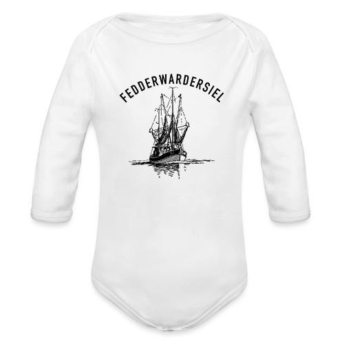 Fedderwardersiel Kutter - Baby Bio-Langarm-Body