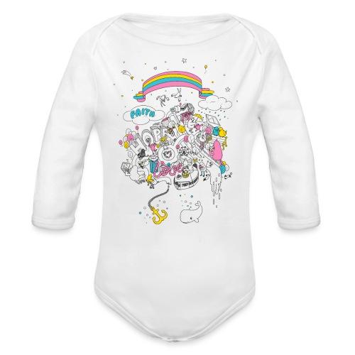 FHL Wimmelshirt VAR1 3000 - Baby Bio-Langarm-Body
