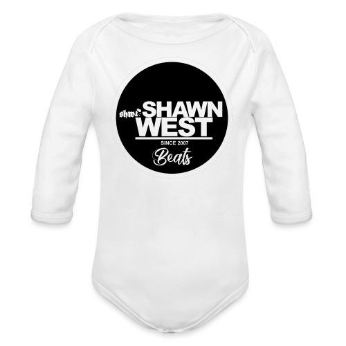 SHAWN WEST BUTTON - Baby Bio-Langarm-Body