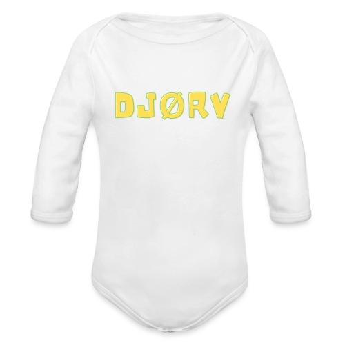djørv - Langærmet babybody, økologisk bomuld