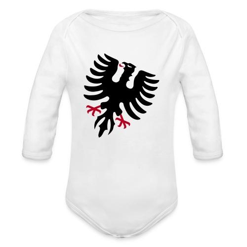 adler - Baby Bio-Langarm-Body
