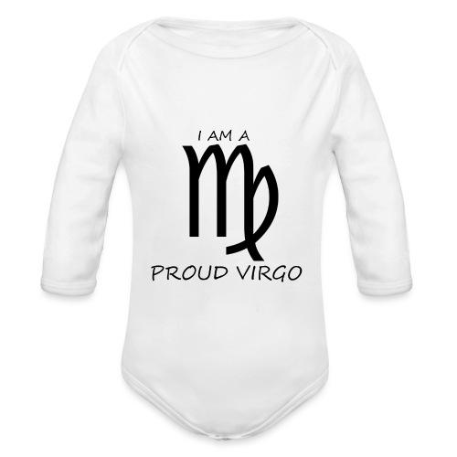 VIRGO - Organic Longsleeve Baby Bodysuit