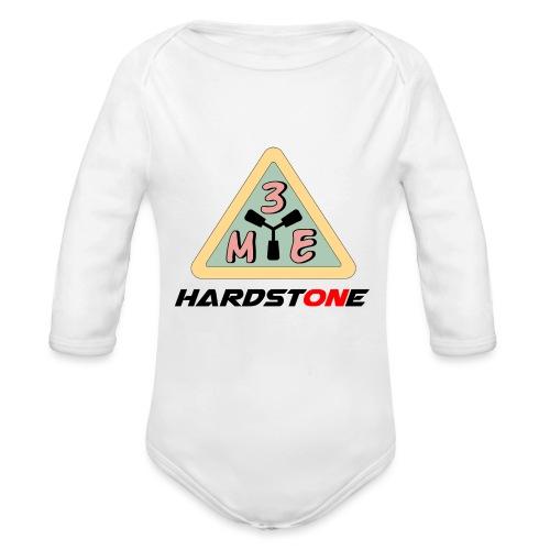 M3E Hardstone - Baby Bio-Langarm-Body