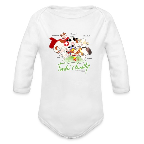 FF FAMILIE 01 - Baby Bio-Langarm-Body