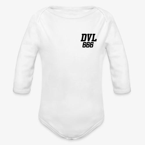 DVL666 - Body orgánico de manga larga para bebé