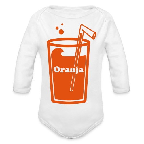 Oranja - Baby bio-rompertje met lange mouwen